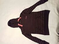 2 womens hooded tops size 10
