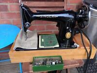 Singer 201k heavy duty sewing machine