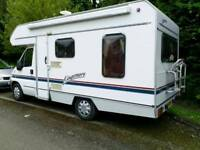 Swift Kingsmere motor home only 54000 miles.