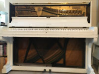 Steck Piano c1930's White