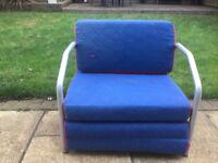 Flexa chair for Kids bedroom. Fits under flexa cabin bed