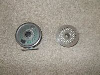 Fly reel with second spool