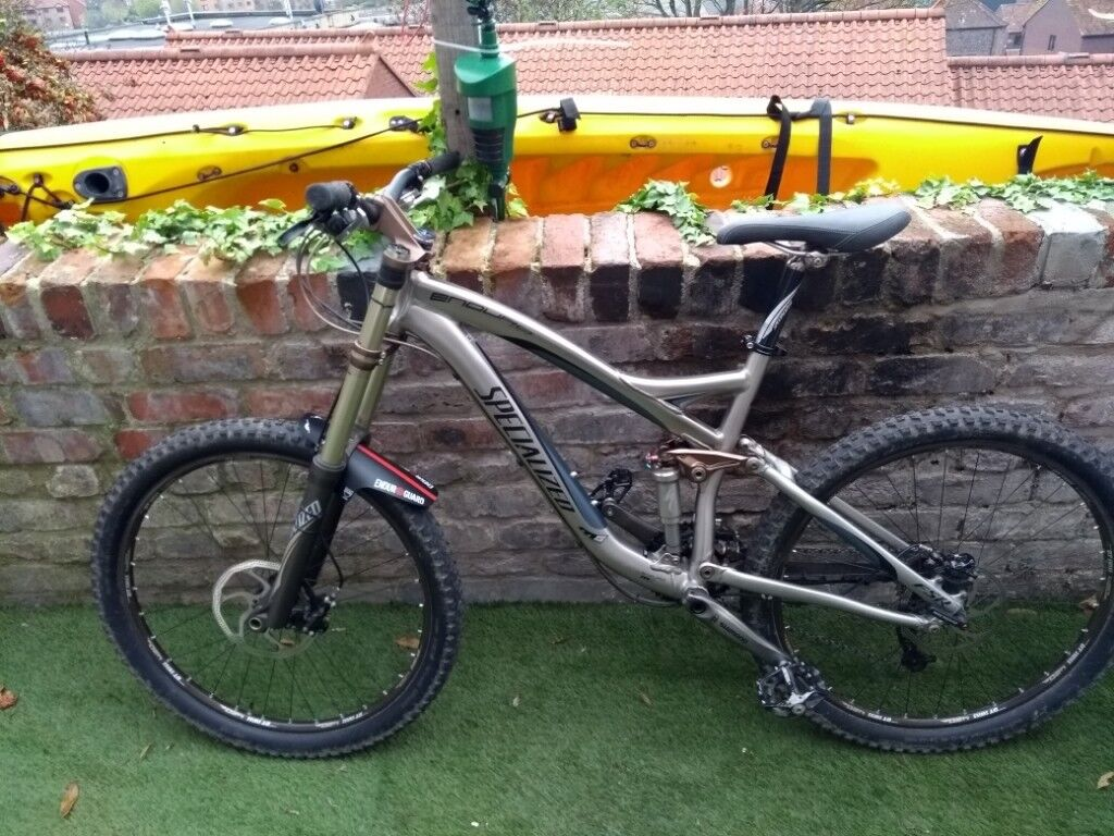 a24a3d12e85 Specialized enduro fsr expert 2008 full suspension mtb all original parts  down to tyres