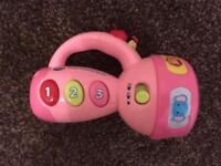 Vtech learn colours torch