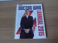 2 Doctor Who Annuals - 2015 and 50th Anniversary