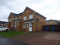 Spacious 3 bedroom Unfurnished Family Home, Carntyne, within modern Eastlands Development (act 582)