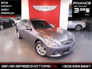 2012 Infiniti G25X LUXURY AWD|BACK-UP CAM|$115 BW|1YR FREE WARRA