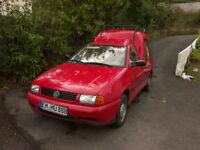 VW Caddy van, spares/repairs EXPORT LHD left hand drive
