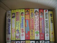 30 VHS tapes for sale that consists of