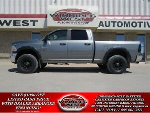 2011 Dodge Ram 2500 CUSTOM HEAVY DUTY CREW 4X4, BLUETOOTH, SHARP