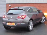 Vauxhall Astra GTC SRI CDTI S/S (grey) 2014-03-11