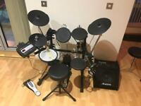 Roland TD-3 Professional Electronic Drumkit & Alesis Drum Monitor