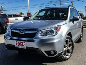 2015 Subaru Forester LIMITED-NAVIGATION+LEATHER+MORE!