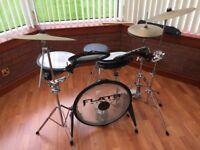 Arbiter Flats Lite drum set including stool.