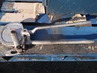 "Ridgid No368 geared ratchet ¾"" 19mm pipe bender"