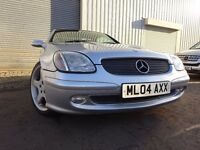 💥04 MERCEDES SLK 200K 2.0 CONVERTIBLE,MOT SEPT 017,2 KEYS,2 OWNERS,PART SERVICE HISTORY