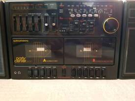 STEREO RECORDER & RADIO - Grundig Party Center 2400 (1987) (VINTAGE)