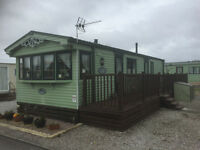 REDUCED-Beautiful 6 berth Static Caravan. Sited in Morcombe. 35' x 12' Willerby Granada. 2 Bedrooms