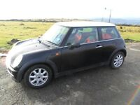 MINI ONE COOPER AUTOMATIC BLACK