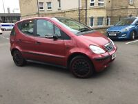 MERCEDES BENZ A CLASS A140-- 1.4 PETROL// FULLY AUTOMATIC--ONLY DONE 68K -- GOOD CONDITION