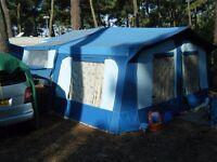 Pennine Fiesta Folding Camper / Trailer Tent for sale.