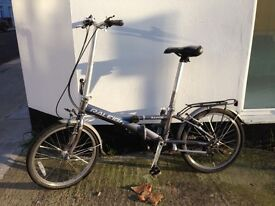 Raleigh folding bike in Camden