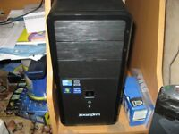 "ZOOSTORM DESKTOP PC, i5, 8 gb ram, 1tb hdd, windows 10, + 24"" led monitor"