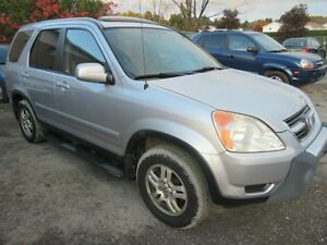 2002 Honda CR-V EX 4WD, Leather, Sunroof