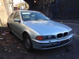 bmw 528i auto silver/blue 2.8 petrol e39 2002 breaking for spares