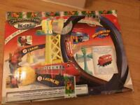 Chuggington train set with one train in good condition.