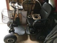Golf buggy (Hillman single seat)