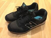 New Balance 996 Women Trainers - Black suede, size UK5 / EU37.5