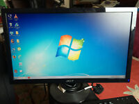 ACER P206HV WIDESCREEN MONITOR
