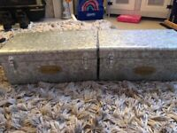 X2 metal storage boxes price is for both