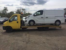 Fiat ducato 2.8 jtd recovery truck