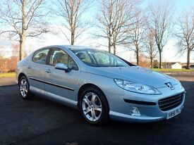 2007 PEUGEOT 407 2.0SE HDI DIESEL EXCELLENT CONDITION