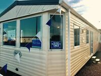 2 bed disabled caravan with wet room at sandy bay holiday park on northumberland coast