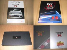 Brochure Nissan Skyline R33 GT-R Nismo V Spec LM Limited RB26DETT GTR Twin Turbo lot