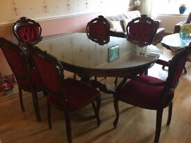 Italian dinning table