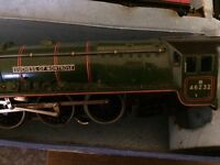 Hornby maccano train set with loads of accessories and trains