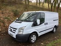 FORD TRANSIT 2011 MODEL 60 WITH TREND/ LX SPEC COLOUR CODE GRILL LOW MILES FSH NICE CLEAN VAN