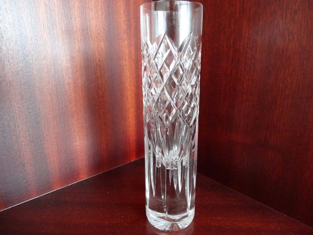 Stuart crystal cut glass spill bud vase as new in west moors stuart crystal cut glass spill bud vase as new reviewsmspy
