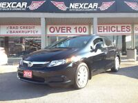 2012 Honda Civic EX AUT0 A/C SUNROOF ONLY 58K