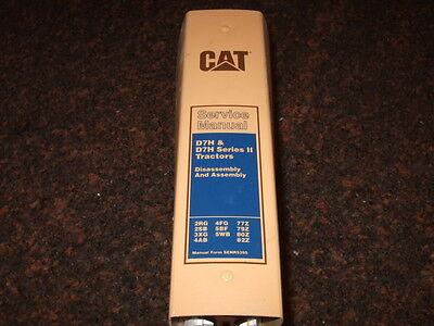 Cat Caterpillar D7h Series I Ii Tractors Shop Repair Service Manual Vol 1