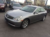 2006 Infiniti G35X AUTO,A/C,AWD,ALL POWER OPTIONS,LOCAL CAR,LEAT