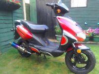 50cc moped 57 reg spares repairs