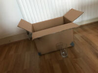 Lots of cardboard boxes suitable for moving home