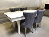 Brand New Handmade Dining Table for 6 People *SHOWROOM STOCK CLEARANCE* FREE DELIVERY