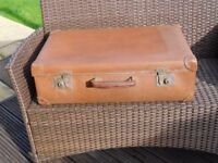 Vintage brown suitcase. Bought from Boots in 1931.REDUCED