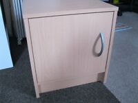 1x oak bedside tables